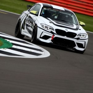 DTO MOTORSPORT BMW M2 racing car around track 2