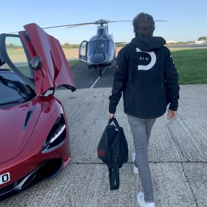 DTO MOTORSPORT MACLAREN AND HELICOPTER