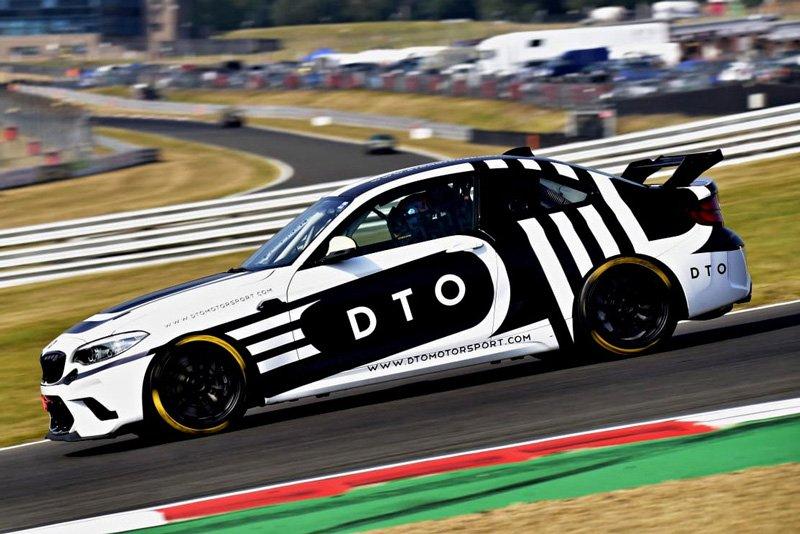DTO Race BMW CS Racing track day